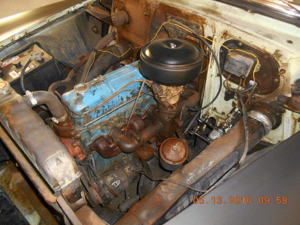 Paper Filter Chevy Message Forum Restoration And Repair Help 1954 Truck Air Cleaner Looks Like This